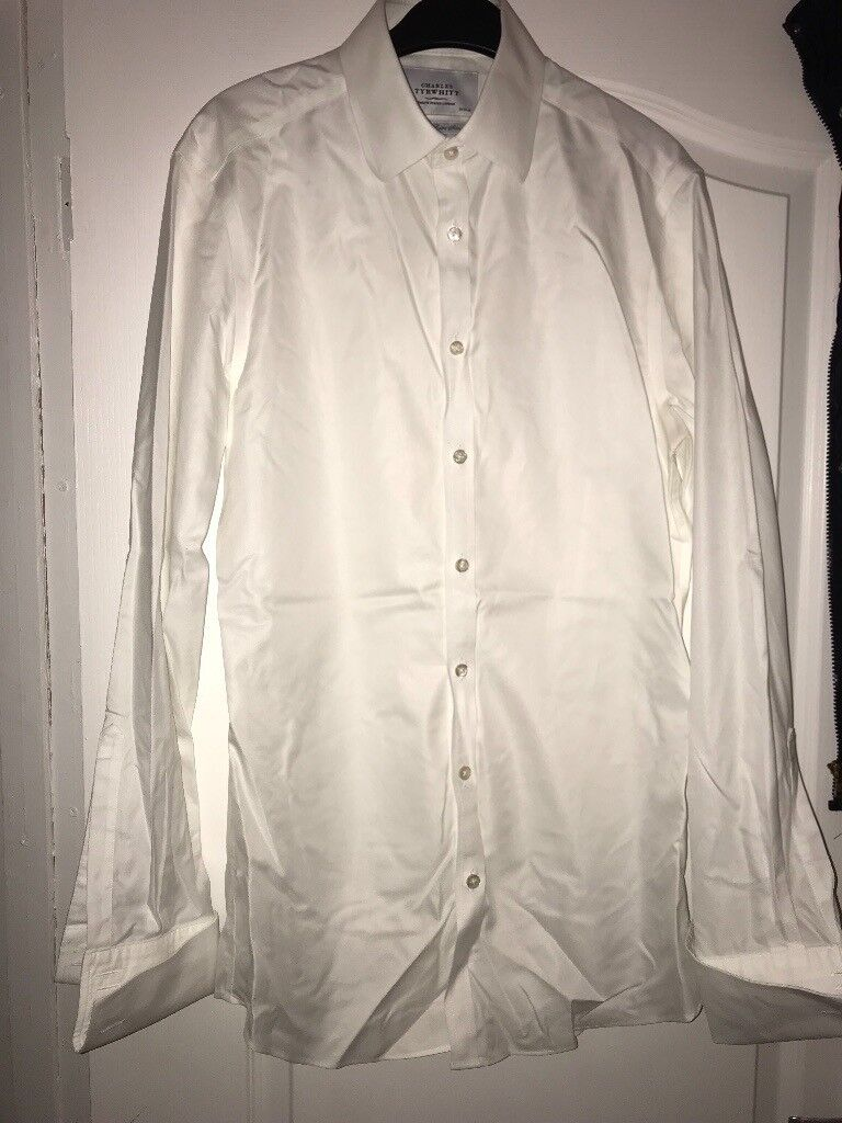 7167f6fd Charles Tyrwhitt white shirt 15 inch neck | in Bearsden, Glasgow ...