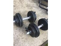 Weights dumbbells