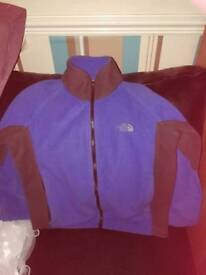North face fleece approx 10-11 yrs