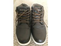 Firetrap brown shoes/boots size 8