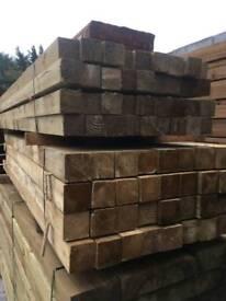 Timber post
