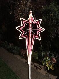 outdor christmas lights decorations shooting star