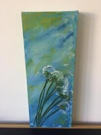 Acrylic on canvas painting