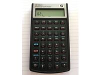 Financial Calculator HP 10bII - Almost NEW - Very little use - Batteries and cover included
