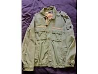 Light green Abercrombie and Fitch jacket - size medium. Great condition!
