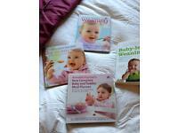 3 x Annabelle karmel baby recipe books & baby led weaning book