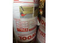 2 x Rolls Loft Insulation – 170mm (thick) – Covers 3.36m - £10 each