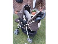 Pram 3-in-1 Winnie the pooh travel system. Good condition.