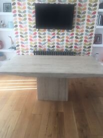 Beautiful Natural Stone dining table