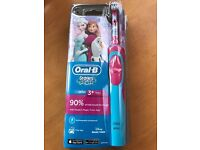 Oral-B rechargeable kids toothbrush