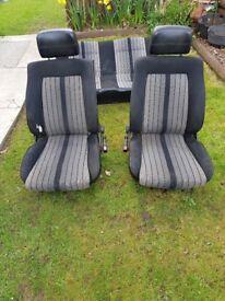 Classic Mk1 golf seats (Recaro)