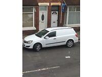Vauxhall Astra van crew rear seats
