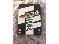 Fast & Furious 4dvd film set