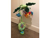 Fisher Price Rainforest Musical Cot Mobile, superb condition