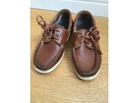 Girls brown Dubarry shoes size 3 (35.5).