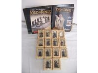 63 Lord of The Rings Collectors Models. All in their boxes. Selling as a lot. See ad for details