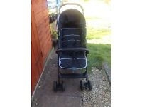 Push chair almost new .hardly used once in very good condition. Black in Color boy not want sit mor