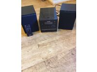 CD/MP3 Micro system for iPod and iphone