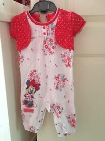 Baby's Minnie all in one