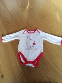 My First Christmas Bodysuit 3-6 months