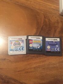 Nintendo DSi with 3 games