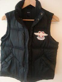 Navy blue Gap boys puffa jacket age 8/9