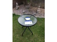 Marquee small bistro garden table
