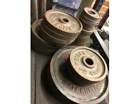 250KG Olympic Weight Plates
