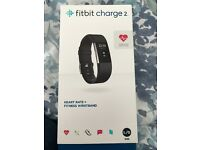 FitBit Charge 2, Black, Large, Boxed, Seldom Worn
