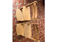 stokke trip trap high chair in good used condition (2 available)