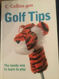 Golf tips book
