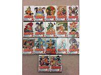 Naruto: volumes 1-17 + 4 FREE volumes of manga