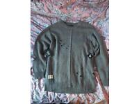 Drop Dead 'Shameless Knit' Jumper - Large