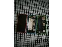 3 Iphone 5Cs.PARTS ONLY