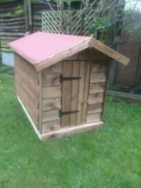 Large dog kennel (brand new)