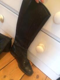 Radley boots, leather black size 41