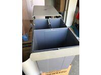 Hafele 3 Bin pull out recycling bin
