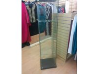 Glass display cabinet/shelf - collection only