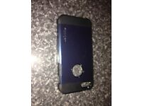 Spigen iPhone 5/5s/SE Tough Armor Case Black and Slate Good Used Condition