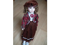 Porcelain Doll - Collector's Piece