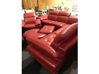 As new real quality Italian four piece suite