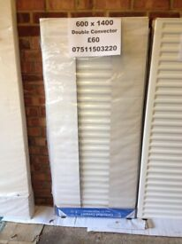 CENTRAL HEATING RADIATOR CENTERRAD Double Convector700 mm high x 1600 mm long.