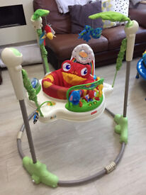 Fisher Price jungle rainforest jumperoo, excellent condition