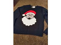 Christmas Festive Santa Jumper Clothing Size Medium