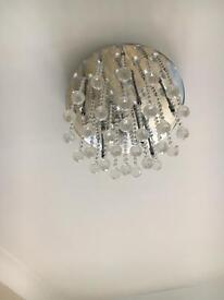 Crystal ceiling hanging light fitting