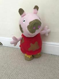 Jumping Peppa Pig, batteries included