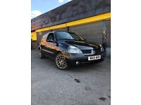 Renault Clio not corsa, ford, Peugeot ect
