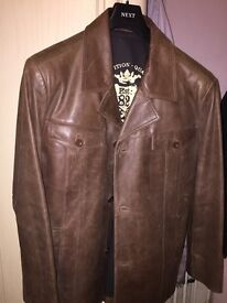 Quality Leather Jacket from Next