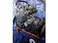 FJ1200 Engine and Frame