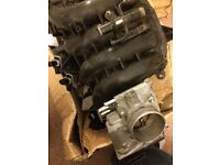 Mazda mx5 mk3 intake manifold, throttle body, solenoid, breathing pipe.